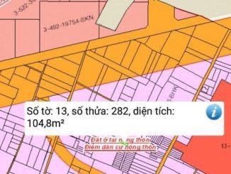 Lô đất Vĩnh Thanh gần khu công nghiệp